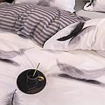 Сімейний комплект постільної білизни Сатин Люкс з компаньйоном S454, фото 3