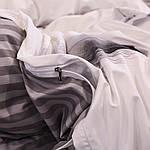 Сімейний комплект постільної білизни Сатин Люкс з компаньйоном S454, фото 4