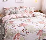 Двуспальный ЕВРО МАКСИ комплект постельного белья Сатин Люкс с компаньоном S451, фото 2