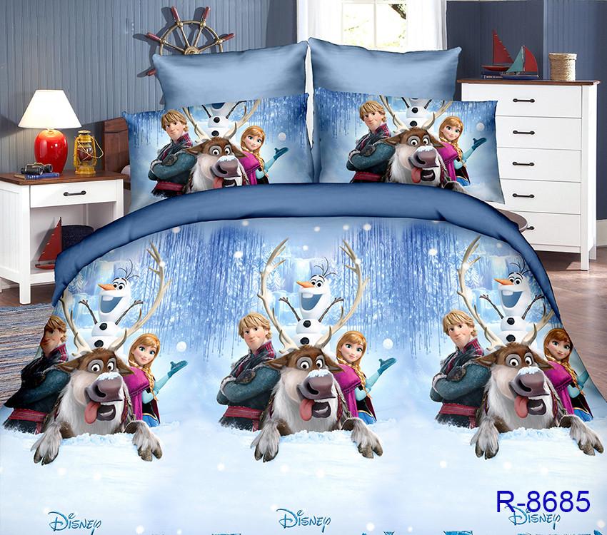 Полуторный Евро  комплект постельного белья для детей R8685