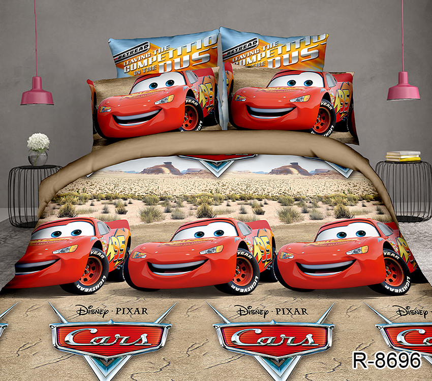 Полуторный Евро  комплект постельного белья для детей R8696