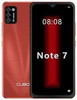 """Cubot Note 7 5.5"""" 2GB RAM 16GB ROM 4G 3100 мАч Android10 16MP Red, фото 1"""