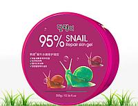 Увлажняющий, улиточный гель HANHUO 95% Snail Moisture Soothing Gel 300ml