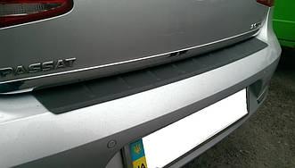 Захисна накладка на задній бампер VW Passat B7 sedan