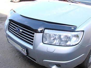Дефлектор капоту (мухобійка) Subaru Forester 2006-2007