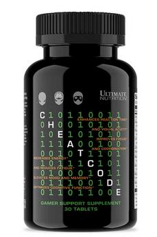 Посилення ментальну фокусування і уваги, жіросжігателя Ultimate Nutrition Cheat Code - 30 таб
