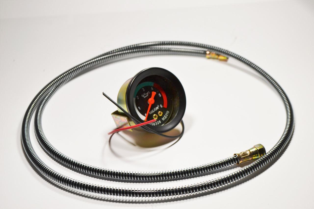 Показник масла механичний МД-219 з подсветкой LED + Шланг давления масла 1.5м