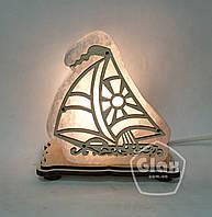 """Соляная лампа светильник """"Корабль"""""""