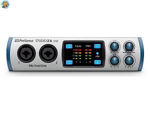 Аудиоинтерфейс Presonus Studio 2|6 USB