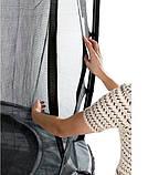 Батут EXIT Elegant Premium 244х427 cm прямоугольный grey, фото 5