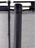 Батут EXIT Elegant Premium 244х427 cm прямоугольный grey, фото 6
