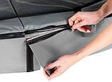 Батут EXIT Elegant Premium 244х427 cm прямоугольный grey, фото 3
