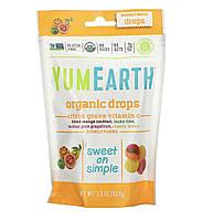 Органические леденцы YUM EARTH с витамином С ( цитрус ),93,5 г, фото 1