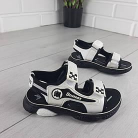 Босоніжки дитячі, спортивні сандалі з еко шкіри. Розміри 26-31 1303321149