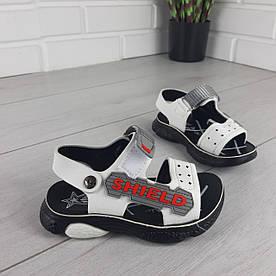 Босоніжки дитячі, спортивні сандалі з еко шкіри. Розміри 26-31 1303321150