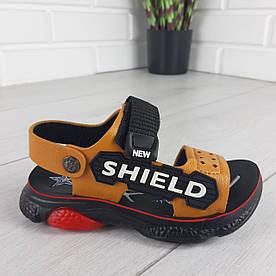 Босоніжки дитячі, спортивні сандалі з еко шкіри. Розміри 26-31 1303321151
