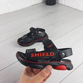 Босоніжки дитячі, спортивні сандалі з еко шкіри. Розміри 26-31 1303321152