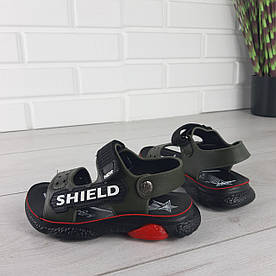 Босоніжки дитячі, спортивні сандалі з еко шкіри. Розміри 26-31 1303321153