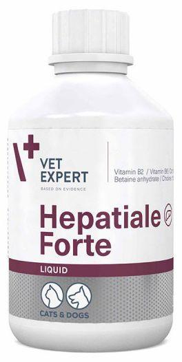 ГЕПАТИАЛЕ ФОРТЕ ЛИКВИД HEPATIALE FORTE LIQUID VETEXPERT гепатопротектор для собак и кошек, 250 мл сироп