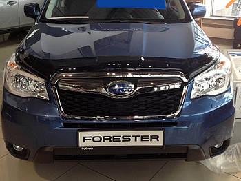 Дефлектор капоту (мухобійка) Subaru Forester 2013-