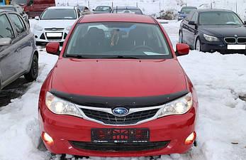Дефлектор капоту (мухобійка) Subaru Impreza 2008-