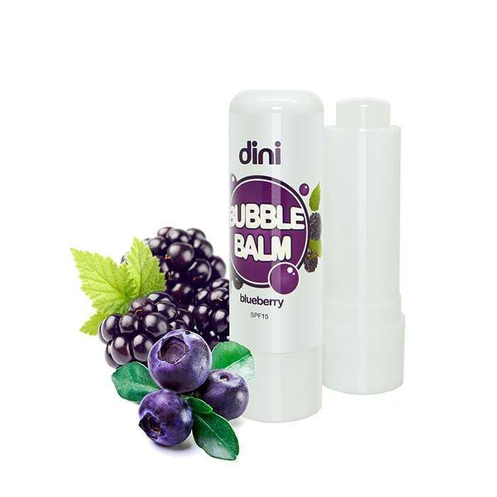 Гігієнічна помада Dini Bubble Balm Чорниця, 4,5гр