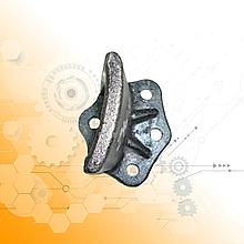 Кронштейн задній додаткової ресори ЗІЛ-130 / чавунний/