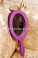 Декоративное зеркало с короной