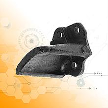 Кронштейн задній додаткової ресори ЗІЛ-130/сталевий