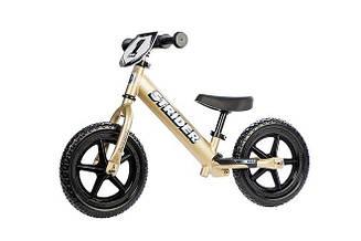 Беговел Strider Pro Gold (Золотой)