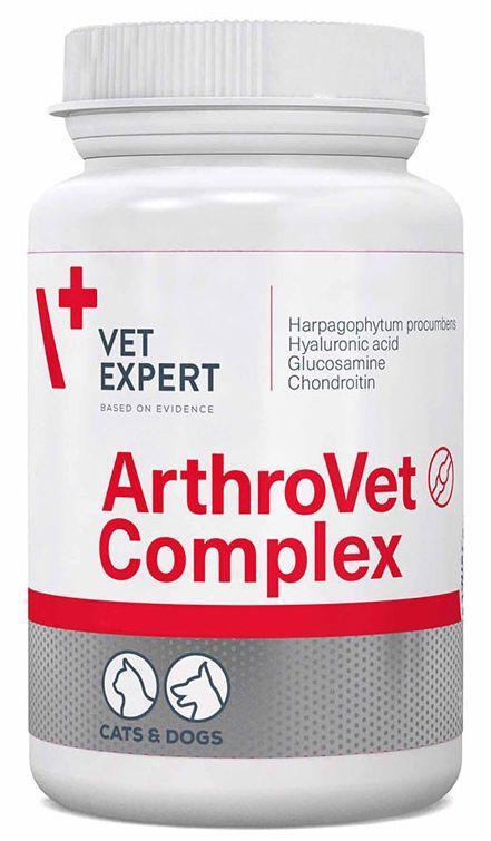 АРТРОВЕТ КОМПЛЕКС ARTHROVET COMPLEX VETEXPERT для лікування захворювань суглобів у собак і кішок, 60 таблеток