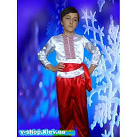 НА ПРОКАТ  Детский национальный костюм для мальчика Украинец (Козак), р.122