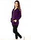 Жіночий прогулянковий костюм трикотаж двунітка з капюшоном 48 розмір, фото 3