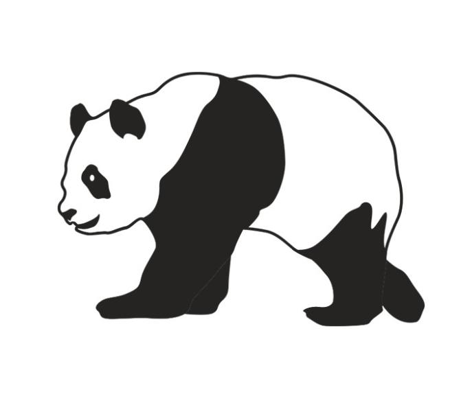 """Наклейка """"Панда"""""""