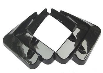 Брызговики полный комплект для Lexus ES350 2007-2012 (окрашные черный), кт.4шт MF.LXES2007