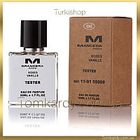 Духи унисекс Mancera Roses Vanille [Tester Концентрат] 50 ml. Мансера Роза Ваниль (Тестер) 50 мл.