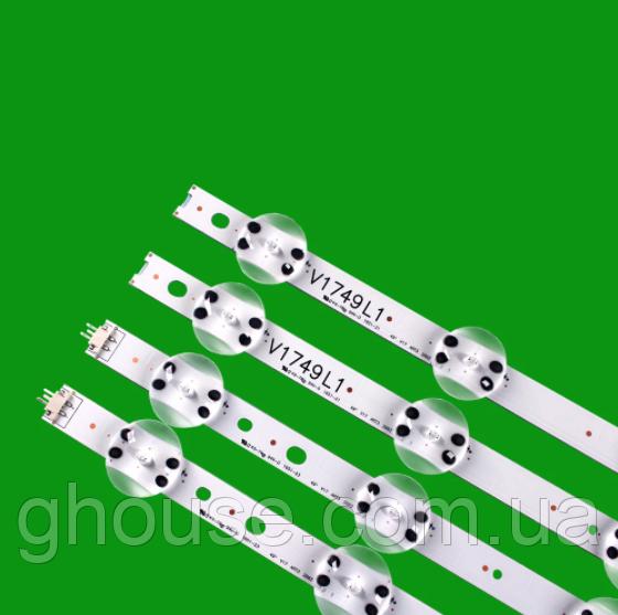LED підсвічування для телевізора LG 49UJ675V підсвічування