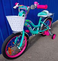 """Детский велосипед для девочки 16"""" FORMULA FLOWER 2020, фото 1"""