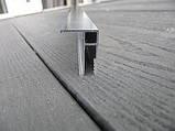Профиль алюминиевый для натяжных потолков - Универсальный. Длина профиля 2,5 м., фото 4