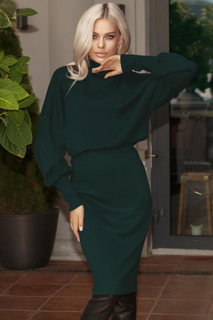 """Женский ангоровый костюм с юбкой """"Delirium большой размер В И"""