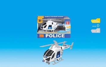 Вертоліт на бат-ці,22,5х10х13,5см,звук,світ.,їздить,у кор-ці №J168-10(36)(72) КІ