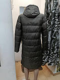 Женская зимняя куртка с капюшоном 2527, фото 3