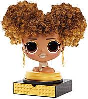 Кукла манекен лол королева пчела L.O.L. Surprise O.M.G. Styling Head Royal Bee ОРИГИНАЛ