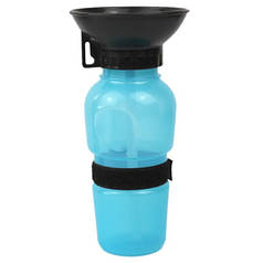 Поилка для собак переносная HLV Dog Water Bottle 7363 Blue