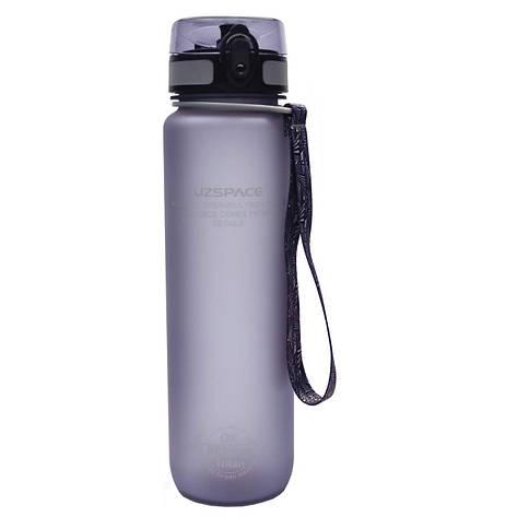 Бутылка для воды UZspace Grey (1000 мл.) - Серая, фото 2