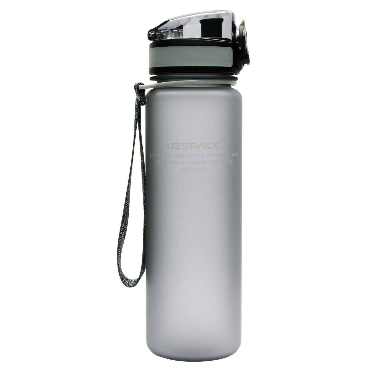 Бутылка для воды UZspace Grey (500 мл.) - Серый