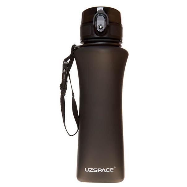 Пляшка для води UZspace Wasser Black (500 мл) - Чорна