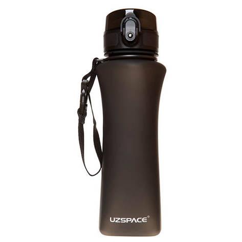 Пляшка для води UZspace Wasser Black (500 мл) - Чорна, фото 2