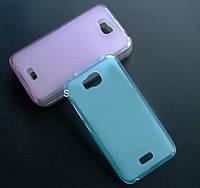 TPU чехол для Huawei Ascend Y5c голубой, фото 1