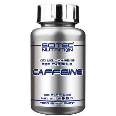 Caffeine Scitec Nutrition (100 капс.), фото 2